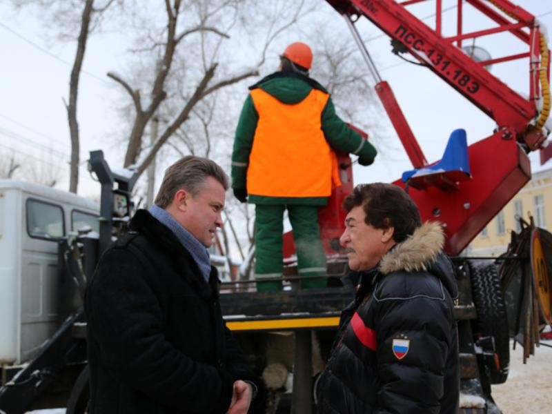 121 million rubles will be spent on upgrading lighting in Voronezh